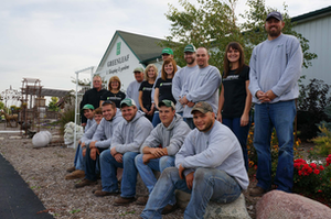 Greenleaf Landscaping & Gardens employees think like owners, say the Schusters, coming up with creative ways to accomplish tasks.