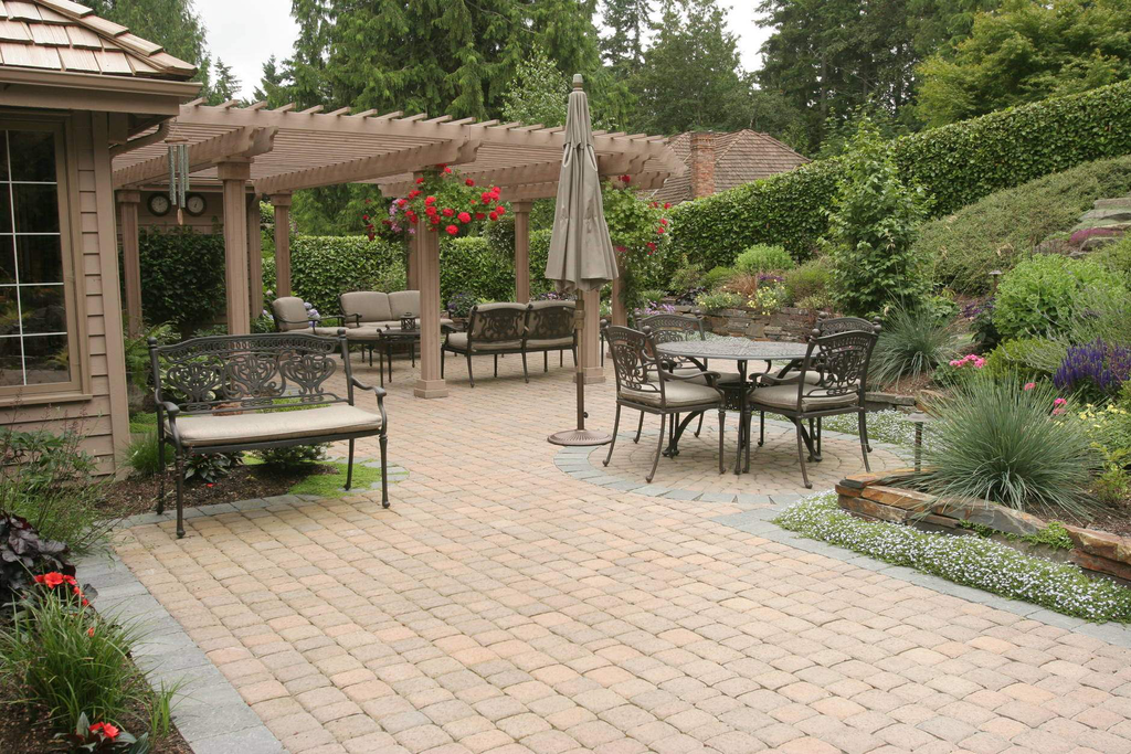 outdoor living areas and hardscaping go hand in hand for creating a space that clients will - Hardscaping
