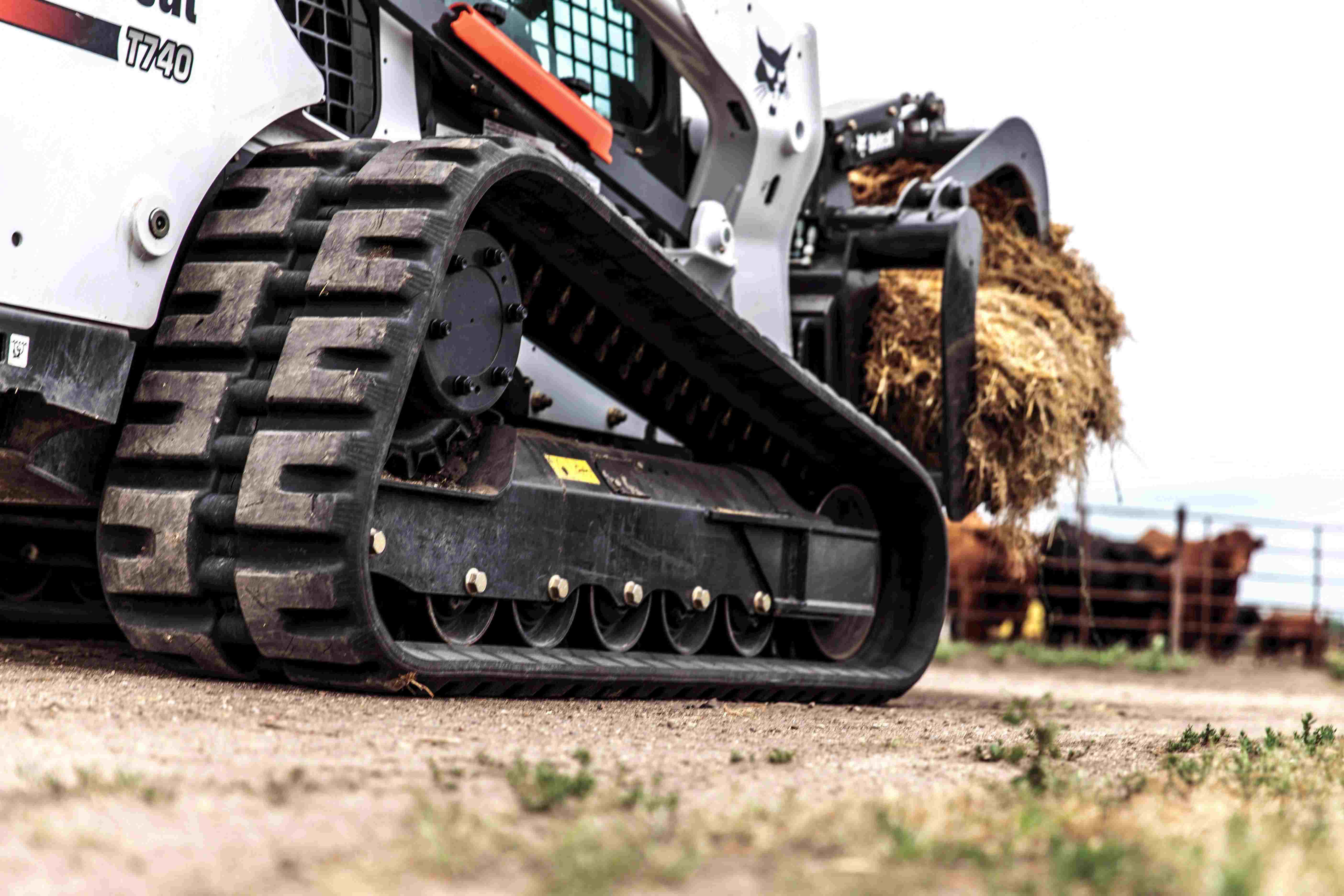 Bobcat Improves Undercarriage Of Compact Track Loaders