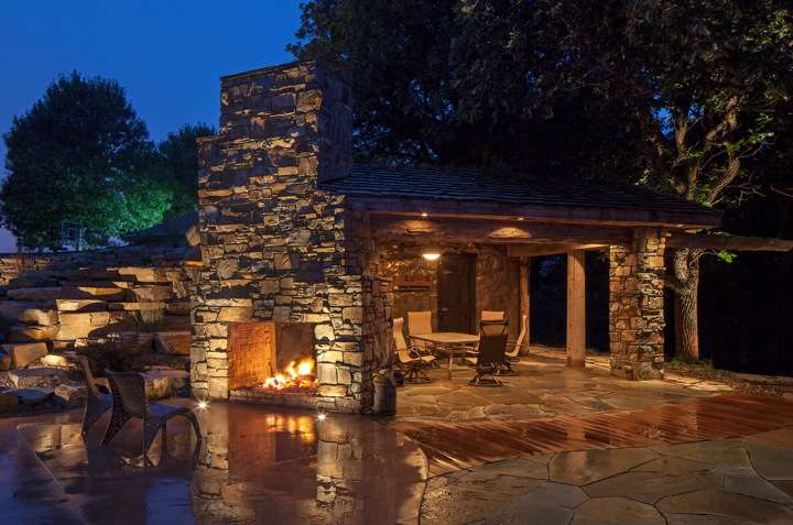 In addition to its practical benefits outdoor lighting makes a significant aesthetic contribution to landscape
