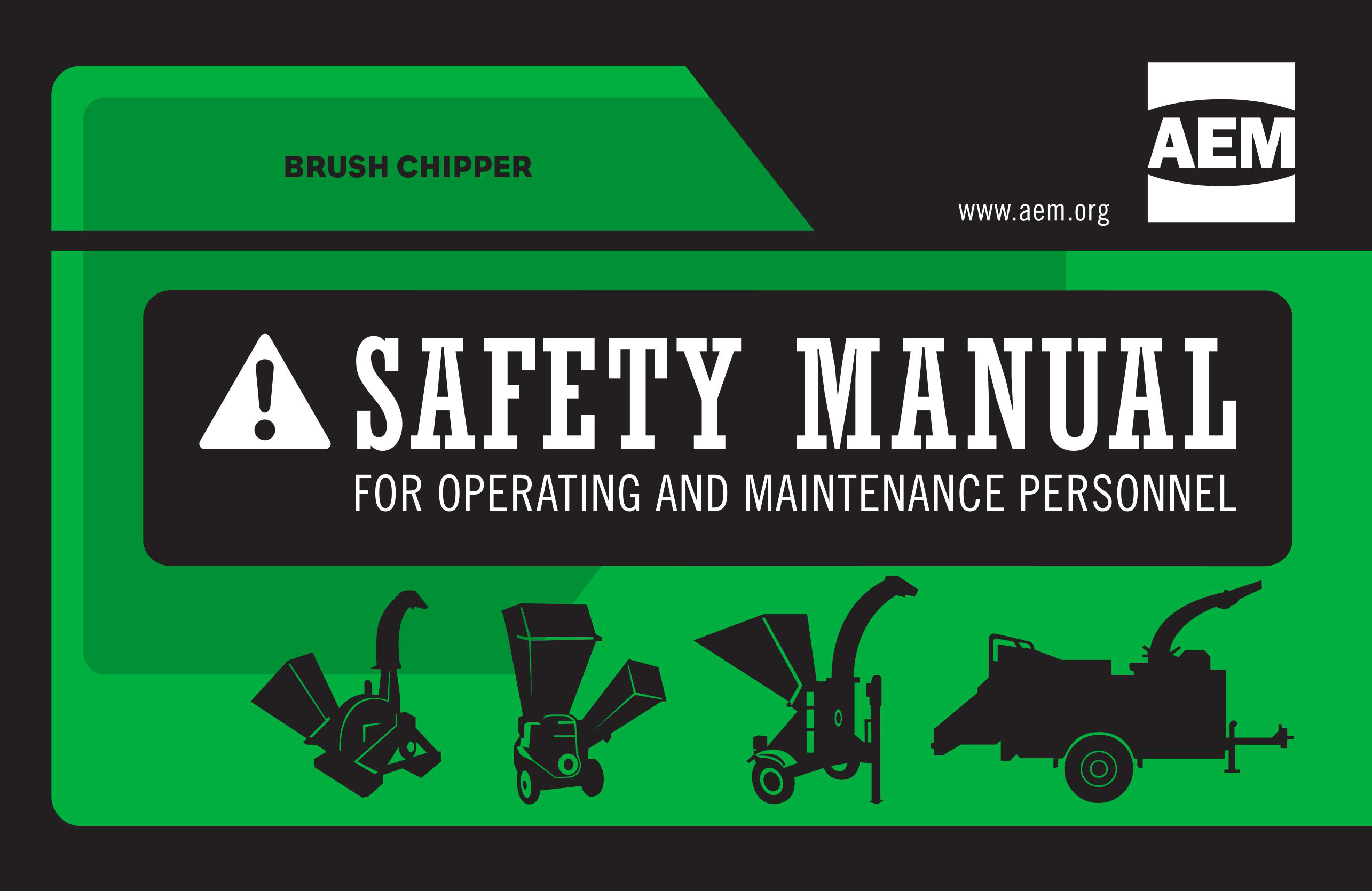 Brush Chipper Safety Manual