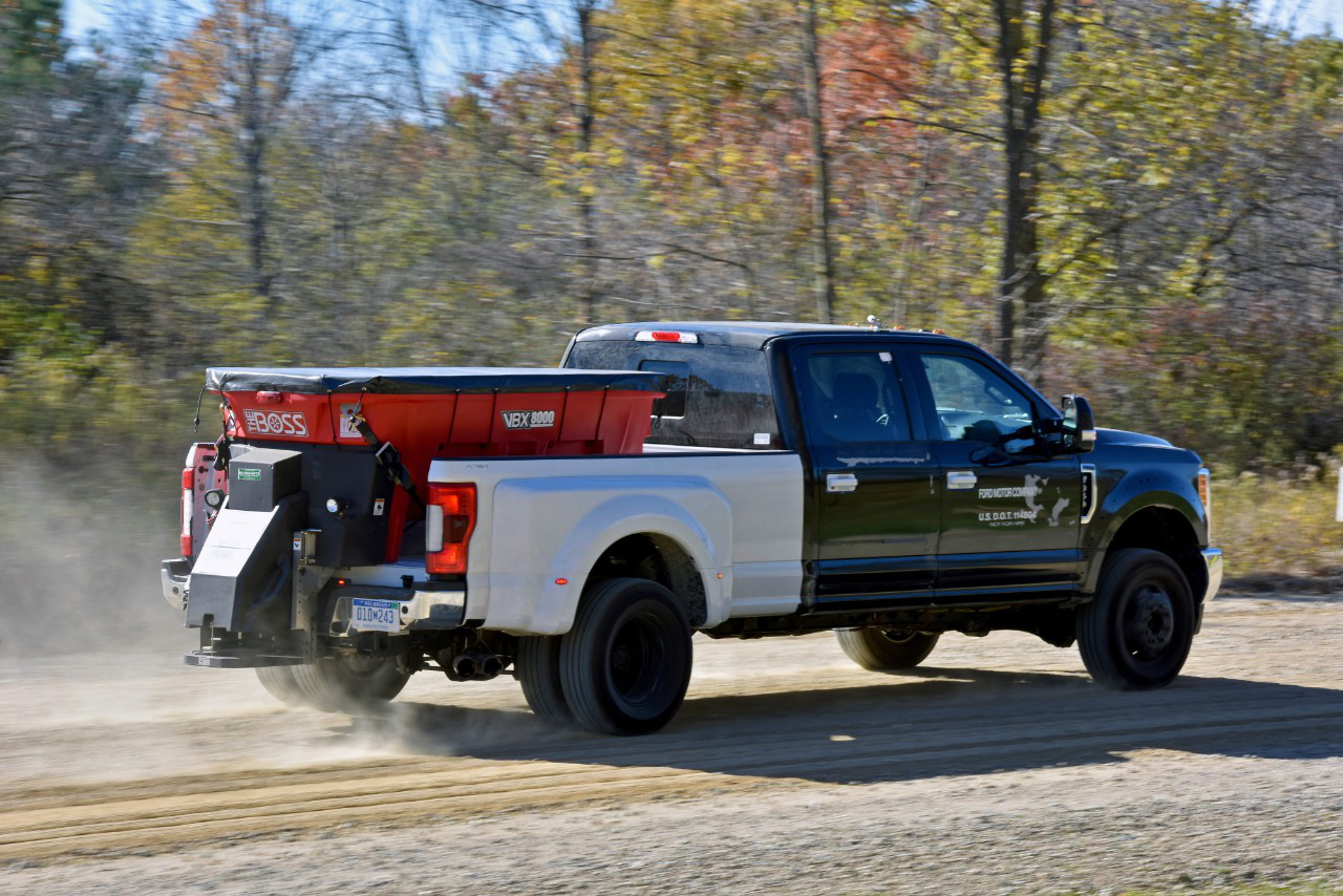 Ford Super Duty Equipment Tests For 2017 Model Trucks