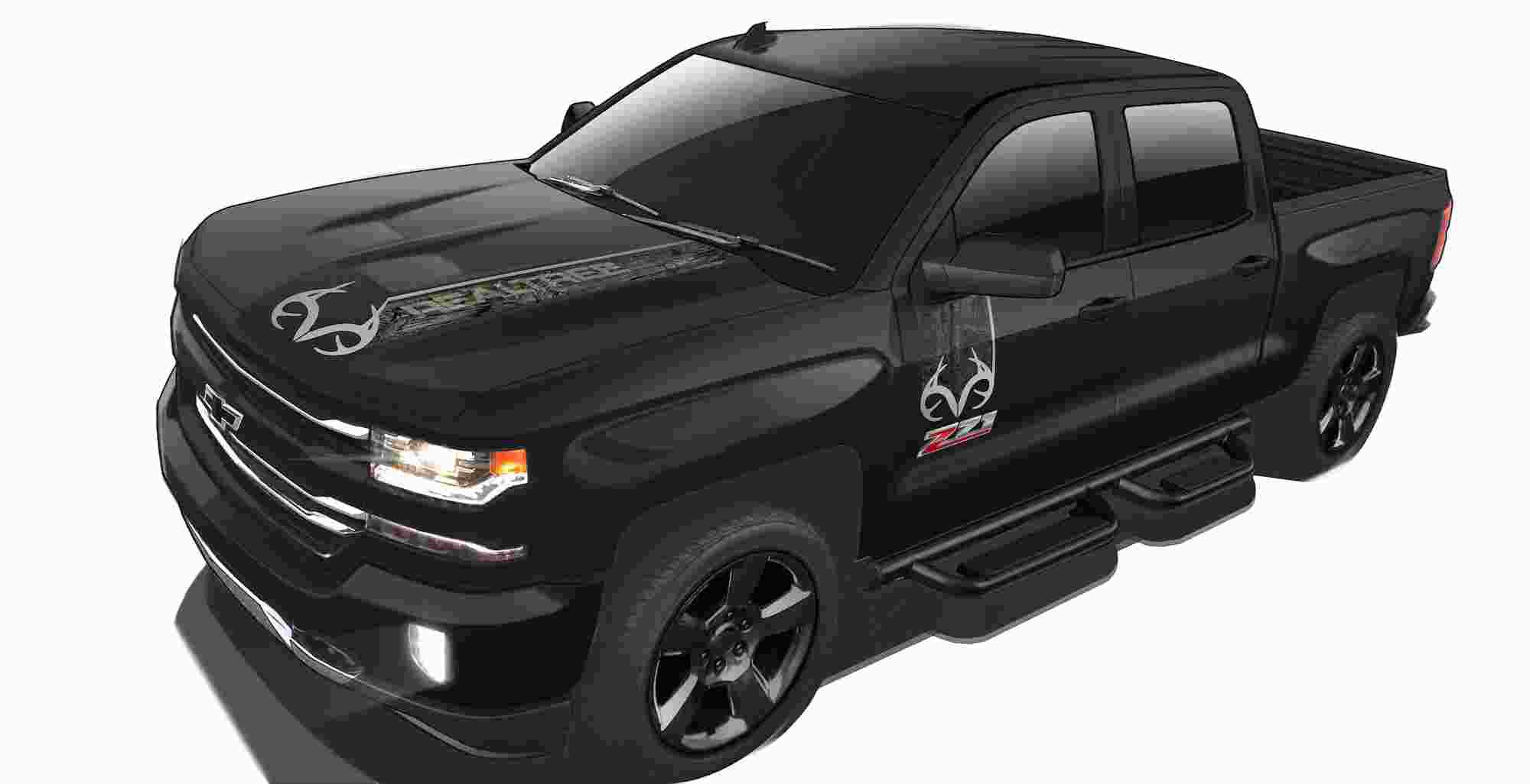 Chevy produces pitch black 2016 Silverado Realtree edition