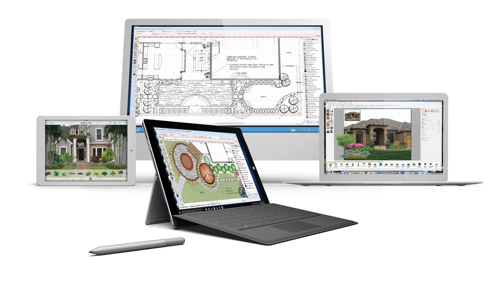 Pro landscape version 22 design software released for Pro design landscape