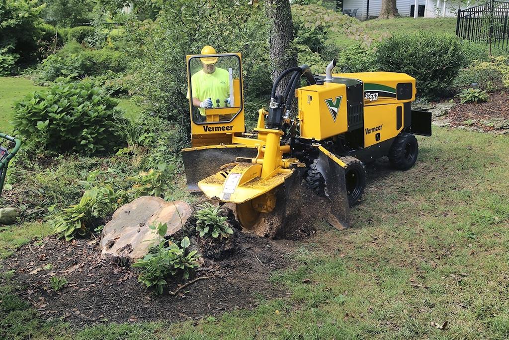 Vermeer introduces SC552, a high-horsepower stump cutter