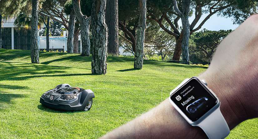 Easy to easier: Husqvarna launches Apple Watch app for robotic mowers