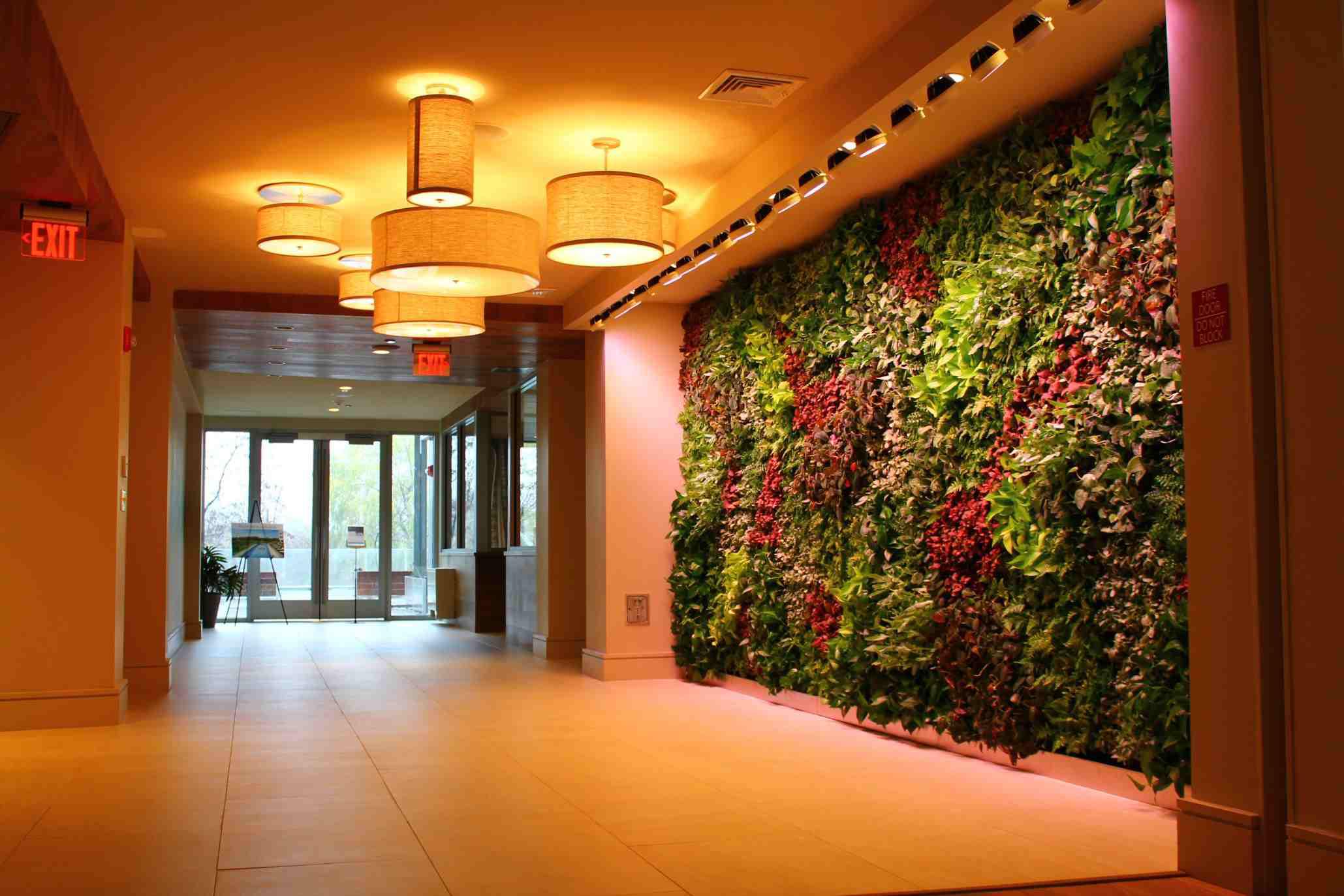 Boston Cityscape Living Wall