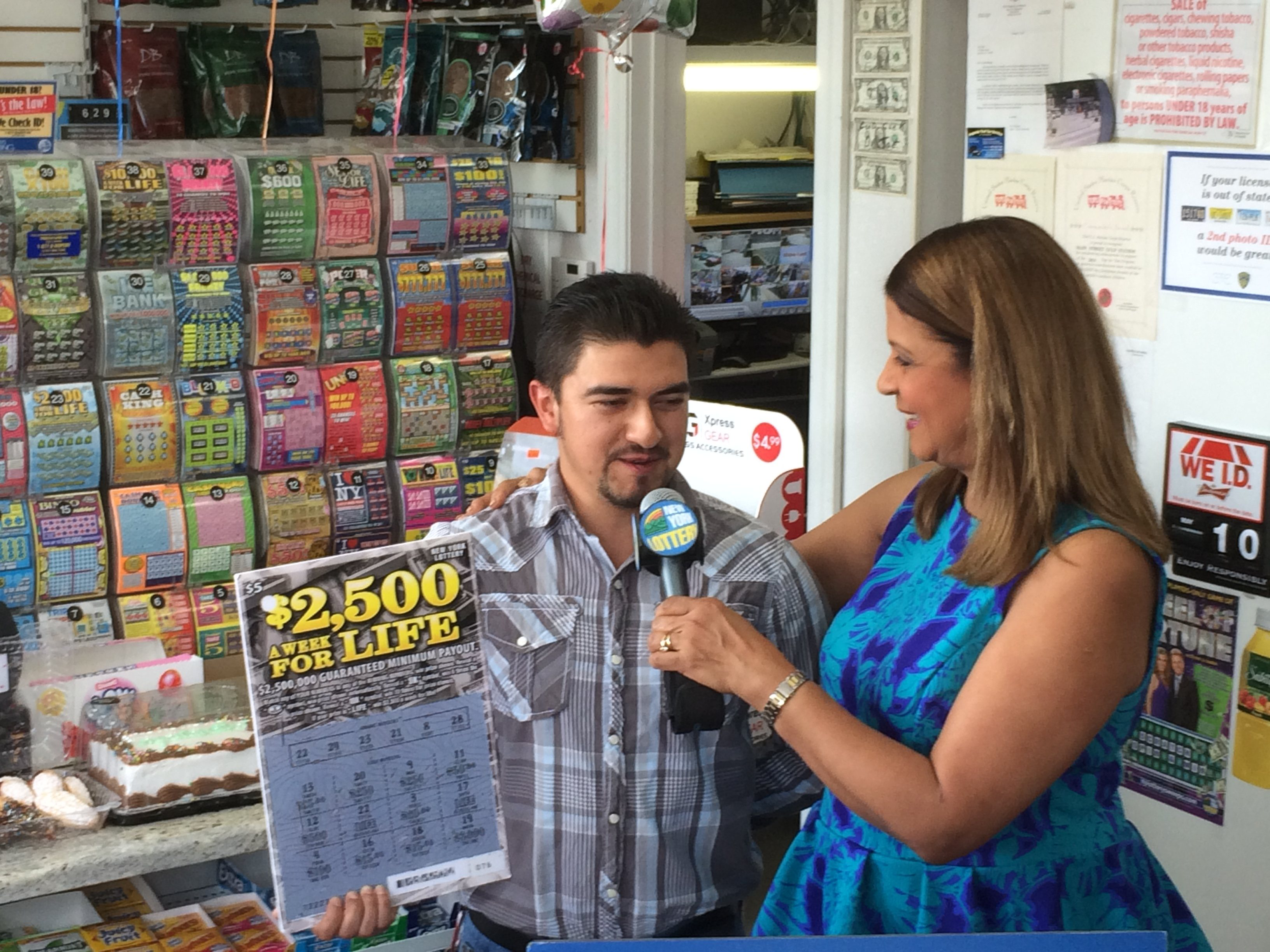 Young Landscaper Wins Over A Million Dollars In New York Lottery