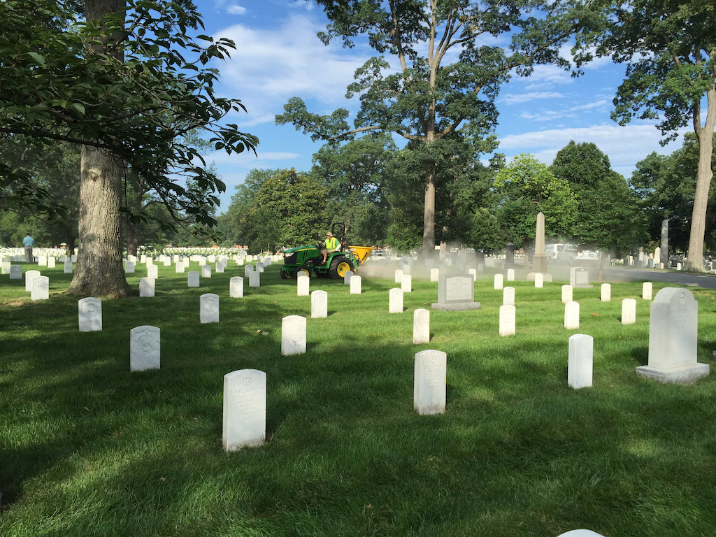 Landscapers prepare for annual Renewal and Remembrance event