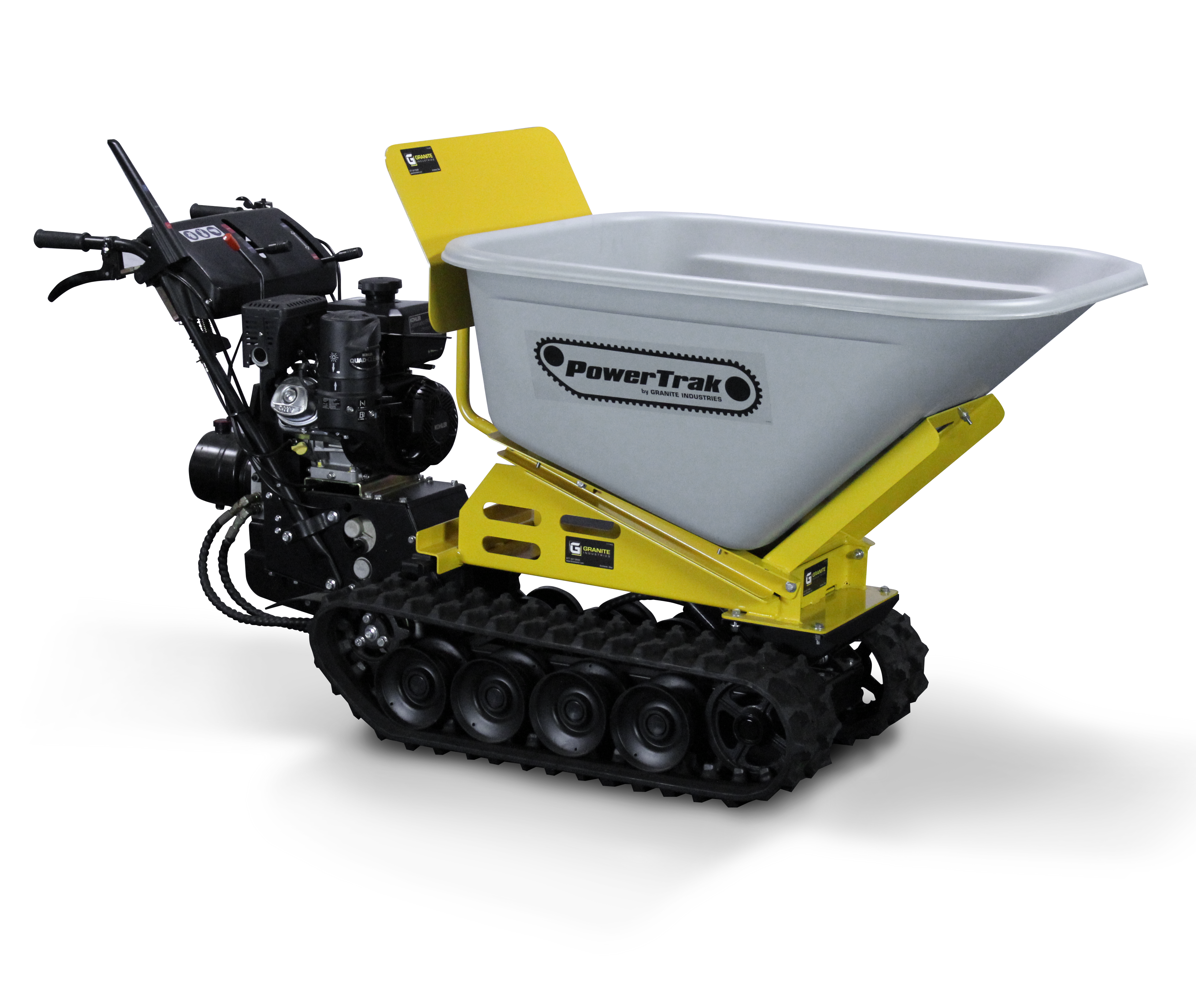 Overland Carts Offers Commercial Grade Electric Wheelbarrows