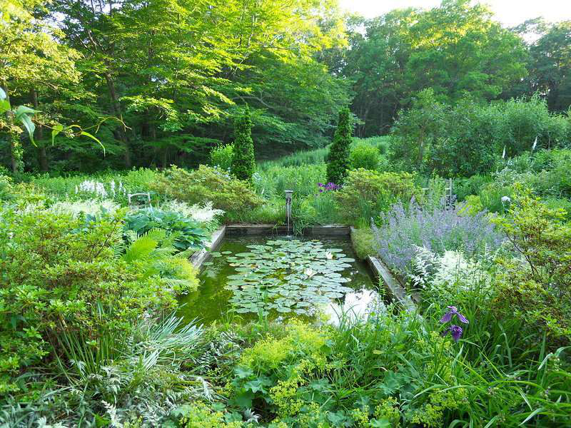 Landscape designer's home bears witness to his talents