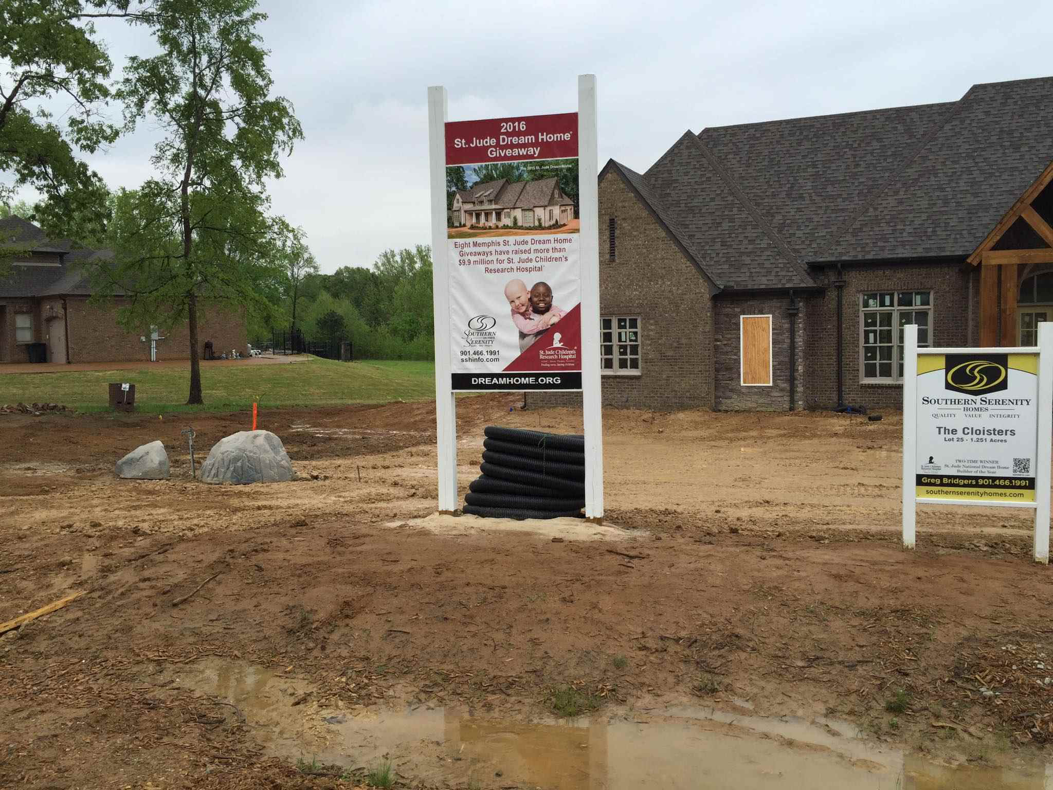 Ewing partners build st jude dream home with donations for St jude dream home floor plan