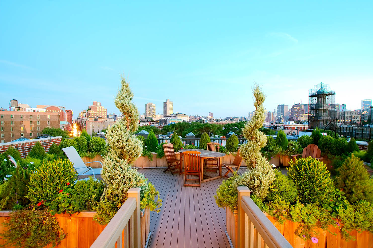 Make The Most Of Your Rooftop Garden With These Design Tips - Rooftop landscaping