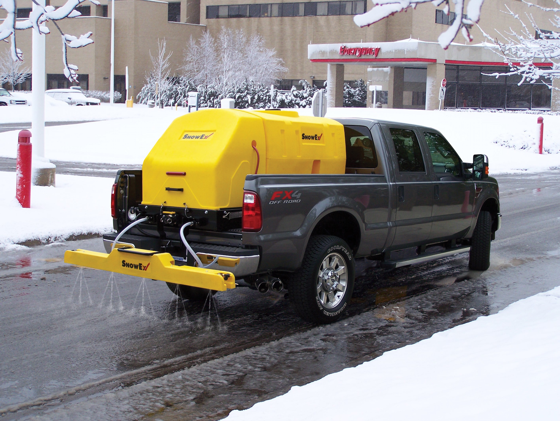 SnowEx to conduct salt brine training tour for snow and ice control