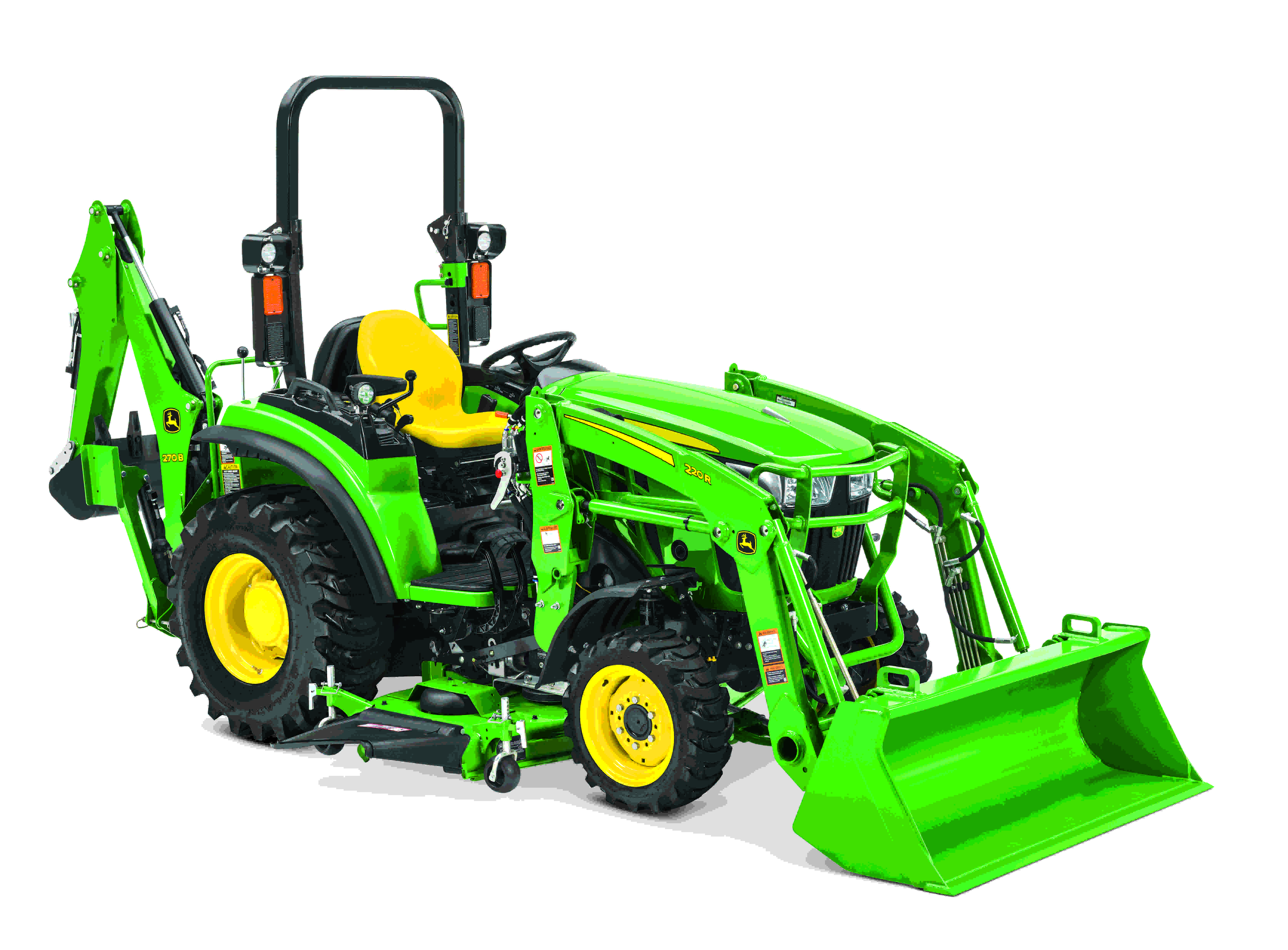 John Deere expands two compact utility tractor series