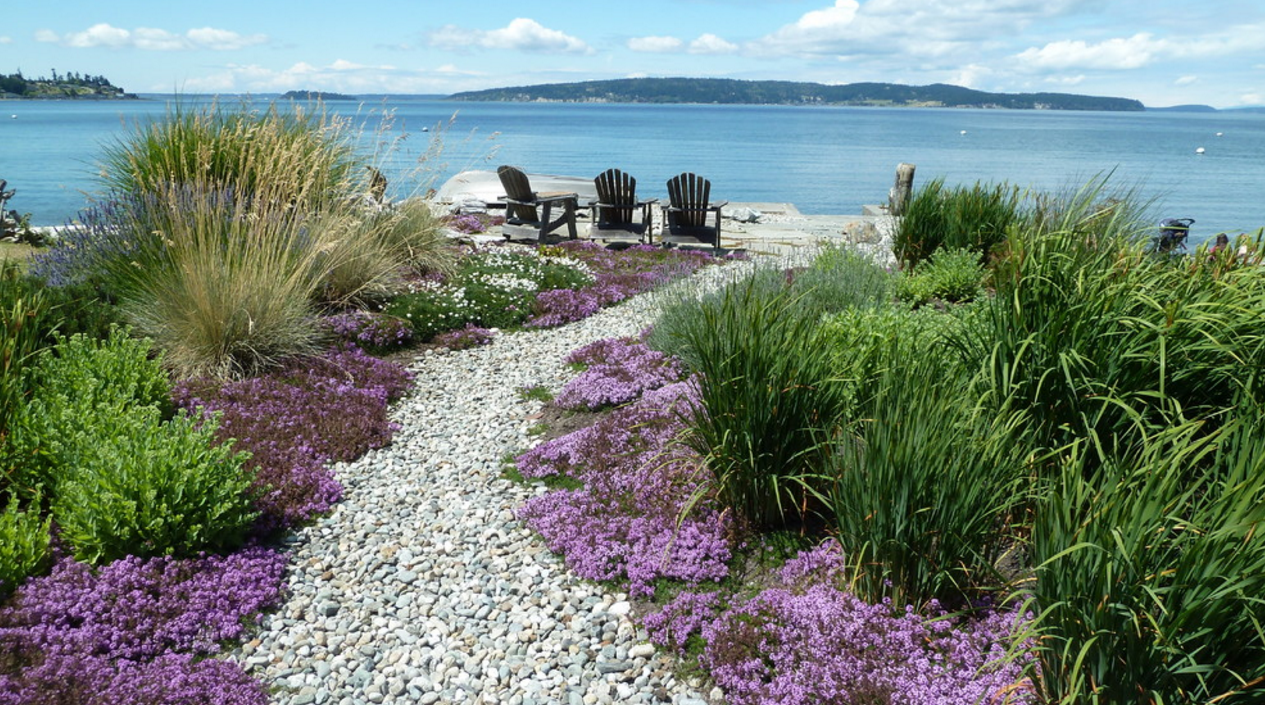 waterfront-path-coastal-design - How To Make The Most Out Of A Coastal Landscape Design
