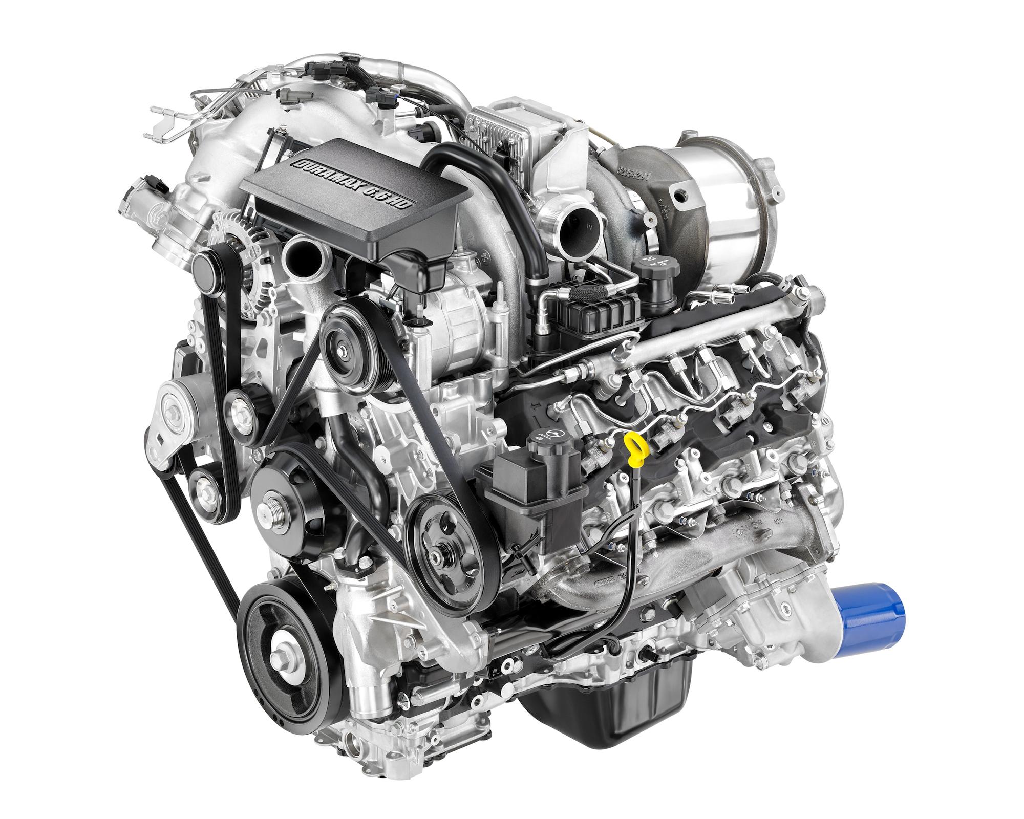General Motors Unveils 2017 Silverado Duramax V8 Diesel