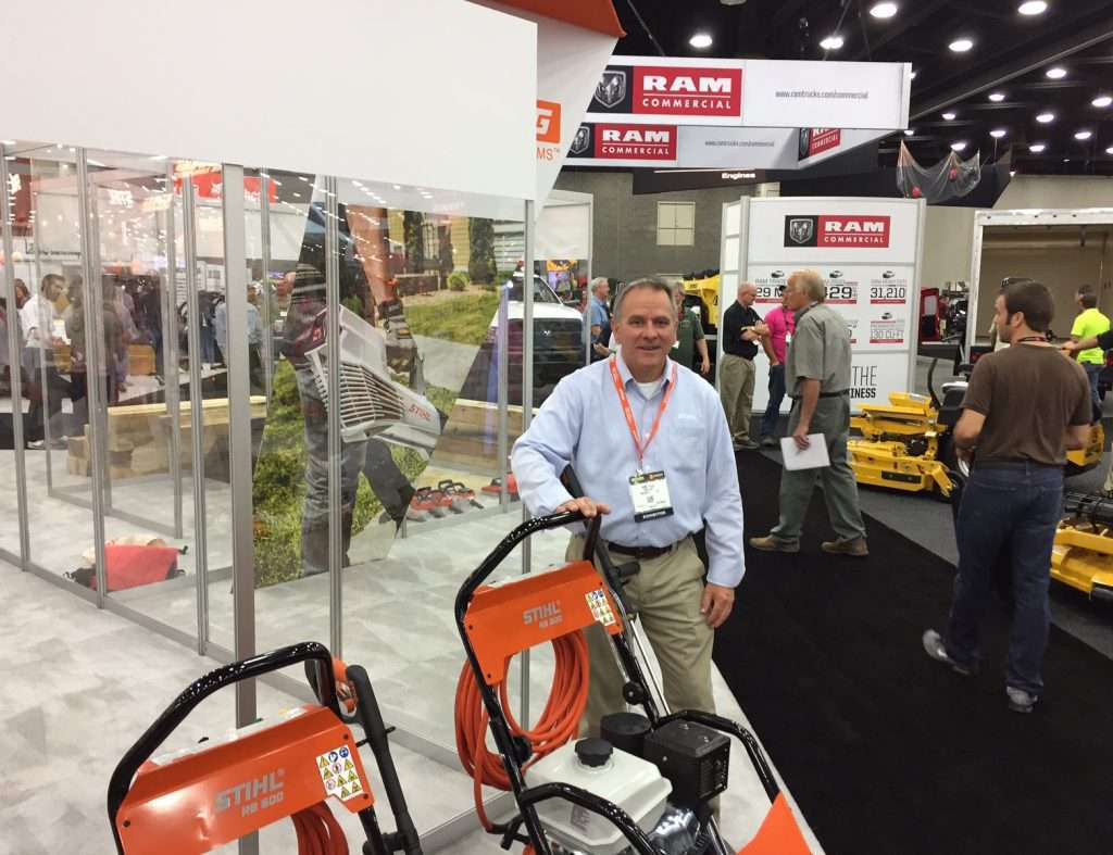 STIHL pressure washers catch landscapers' eye at GIE+EXPO
