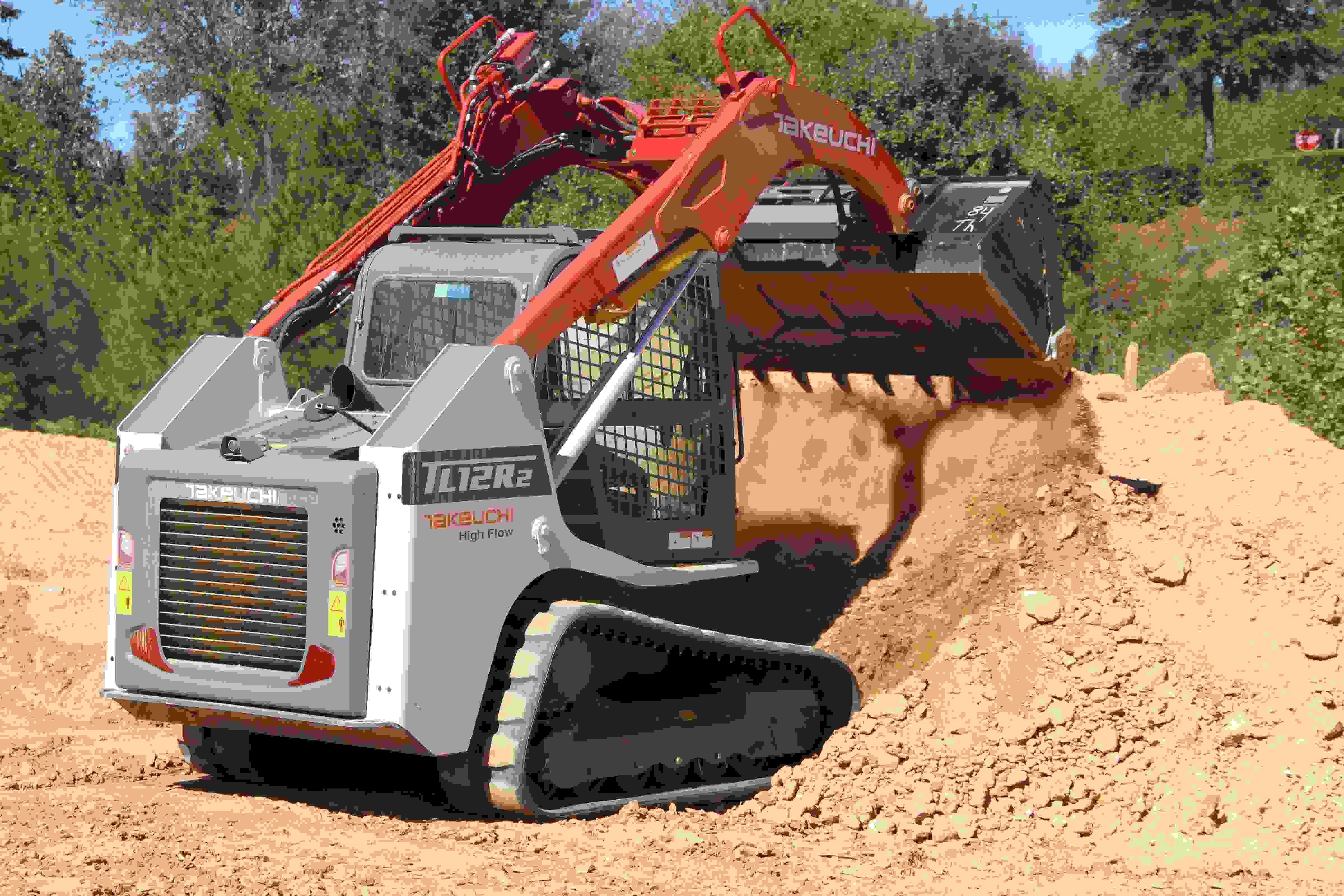 Takeuchi's new track loaders come with telematics system