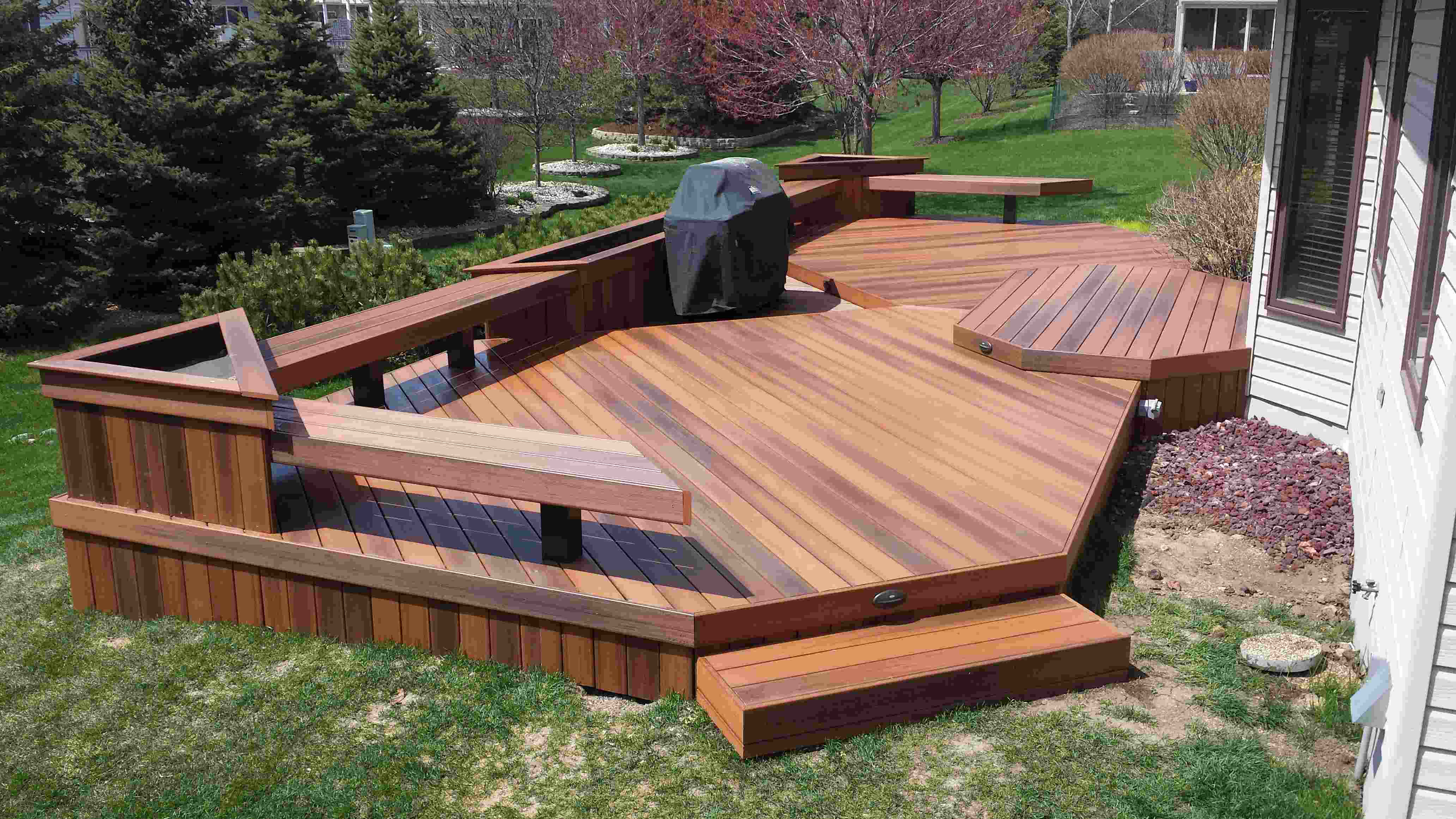 Decking professional tells landscapers to not cut corners for Timber decking materials