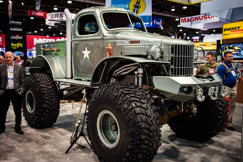 Fewer than 80,000 of the 1941 Dodge half-ton trucks were produced, making it tough for Sgt. Rock's builder to find one.