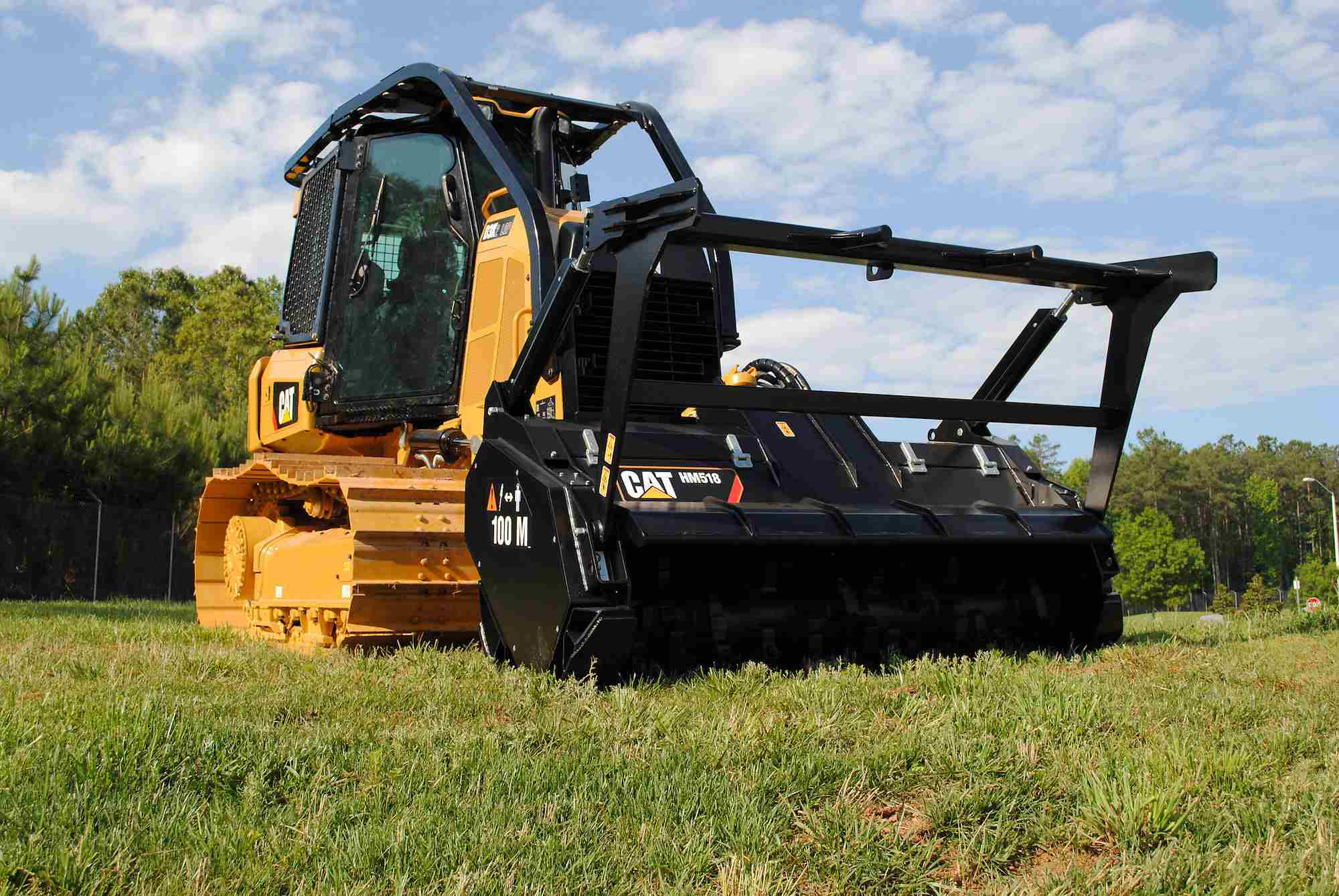Caterpillar D3K2 Mulcher caterpillar introduces a mulcher with custom attachments Caterpillar 586C Forestry Mulcher at edmiracle.co