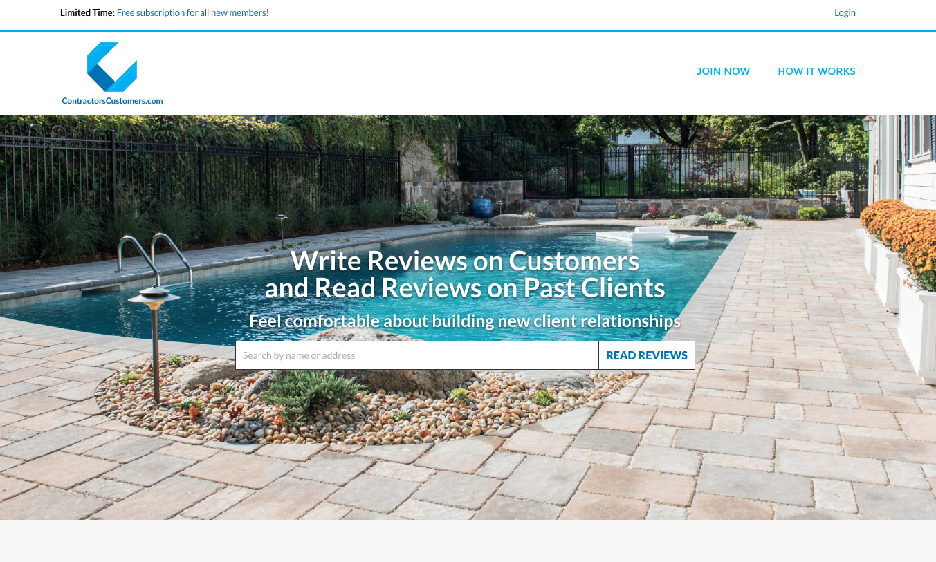 New Website Allows Landscapers To Review Good Bad Clients