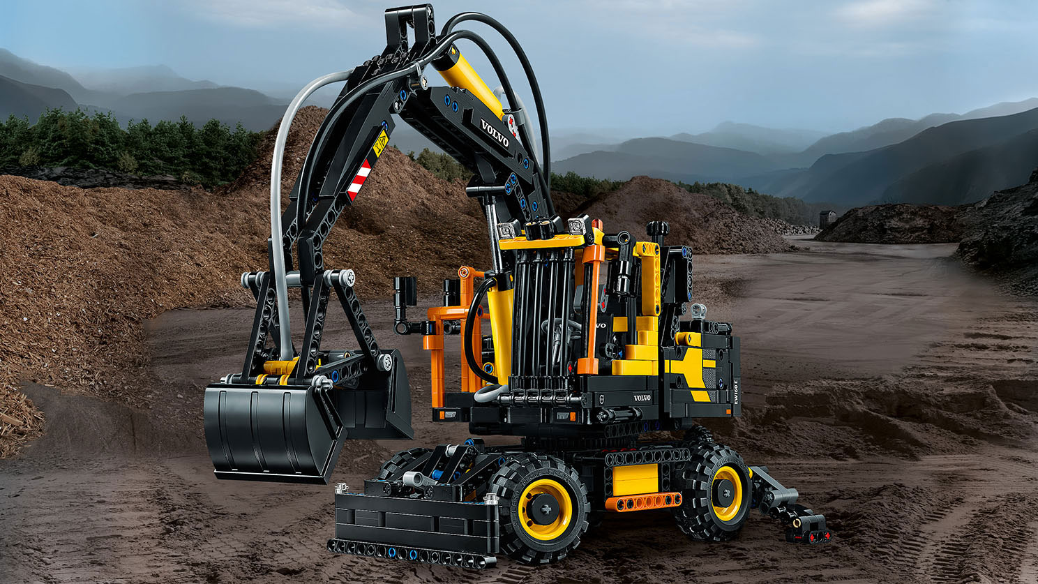 is a lego volvo wheel excavator on your christmas list. Black Bedroom Furniture Sets. Home Design Ideas