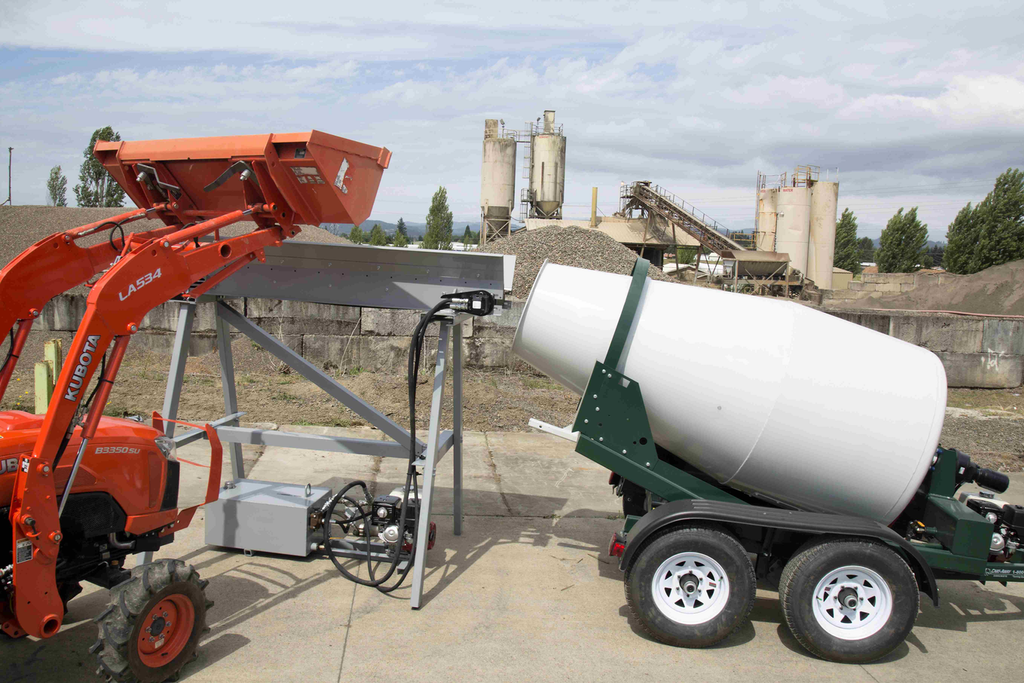 Cart Away Offers Mini Belt Loader For Small Concrete Batch