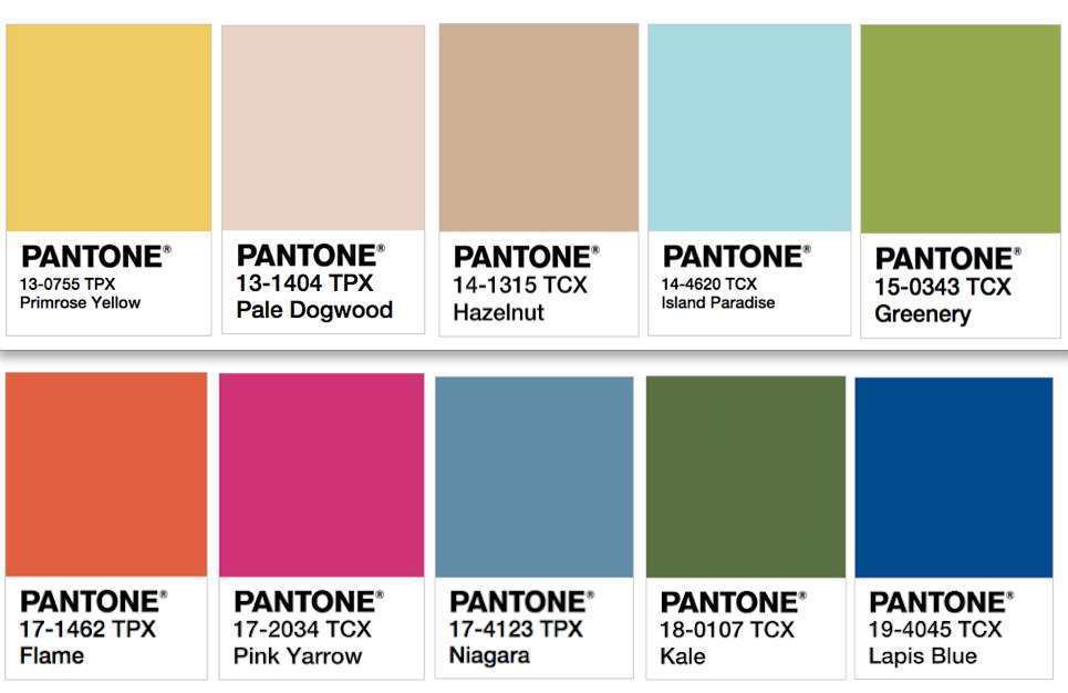 pantone colors summer 2017 - photo #12