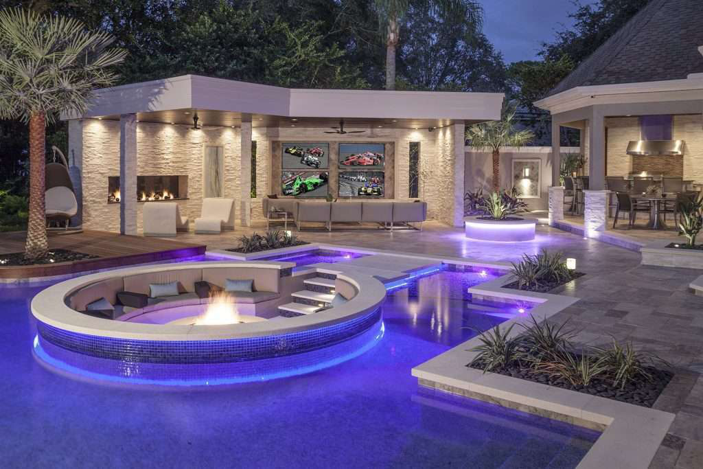 Florida Landscape Architecture Firm Outdoor Living Project on Outside Living Area id=47712
