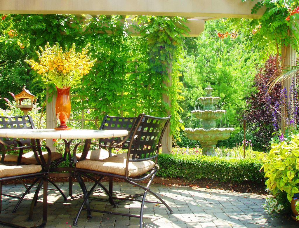 Pergola Patio Heritage Oaks Landscaping