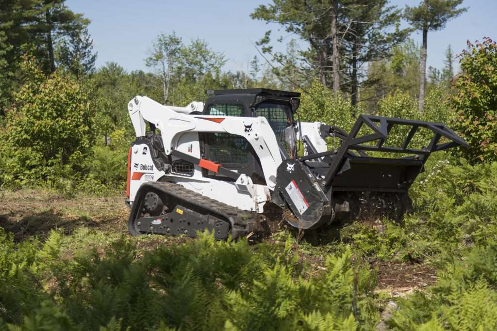 Bobcat Introduces Their New Forestry Cutter Attachment