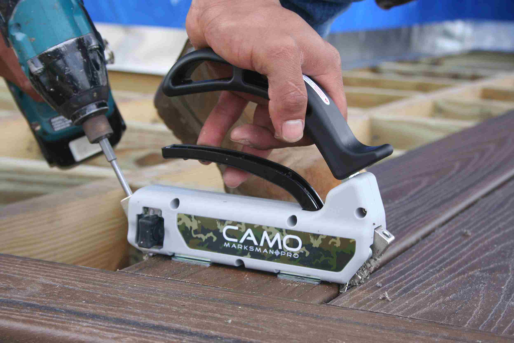 CAMO touts benefits of enhanced deck fastening system