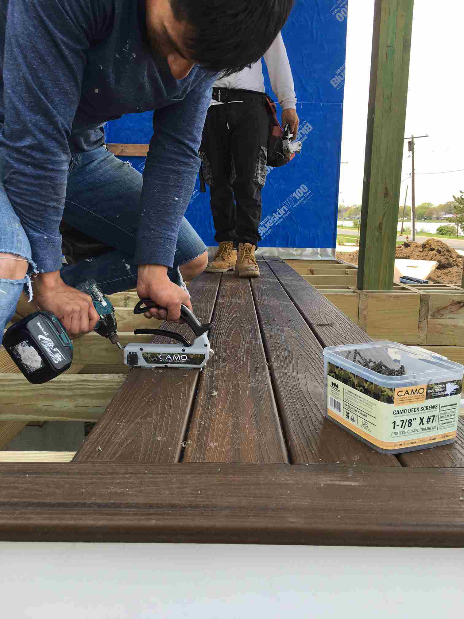 Camo S Deck Fastening System Ensures Smooth Deck Building