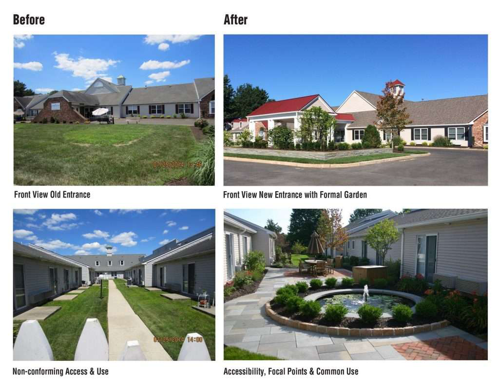 Landscape Redesign Before and After Pictures