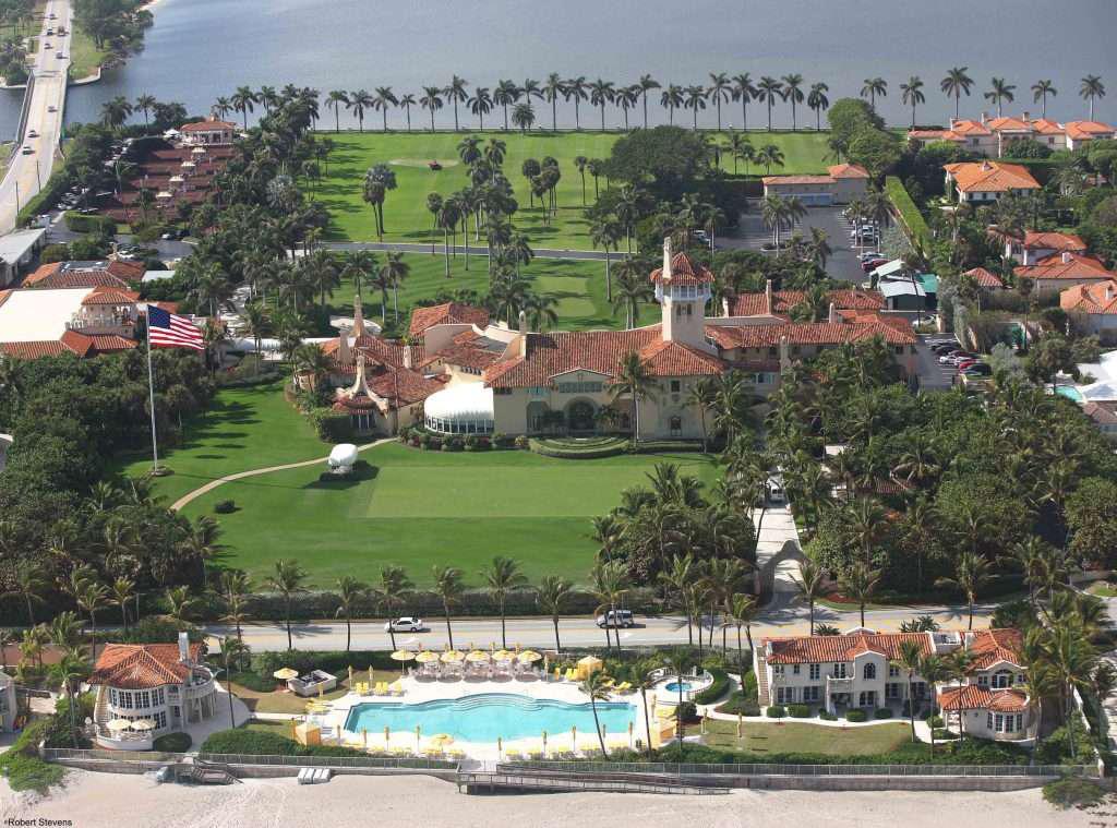 Mara-A-Lago also known as the 'Winter White House'