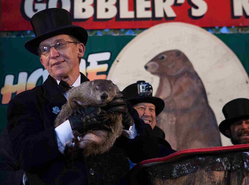 Groundhog Day Ceremony