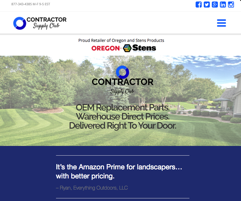 News roundup: Website said to be the 'Amazon Prime' for landscapers