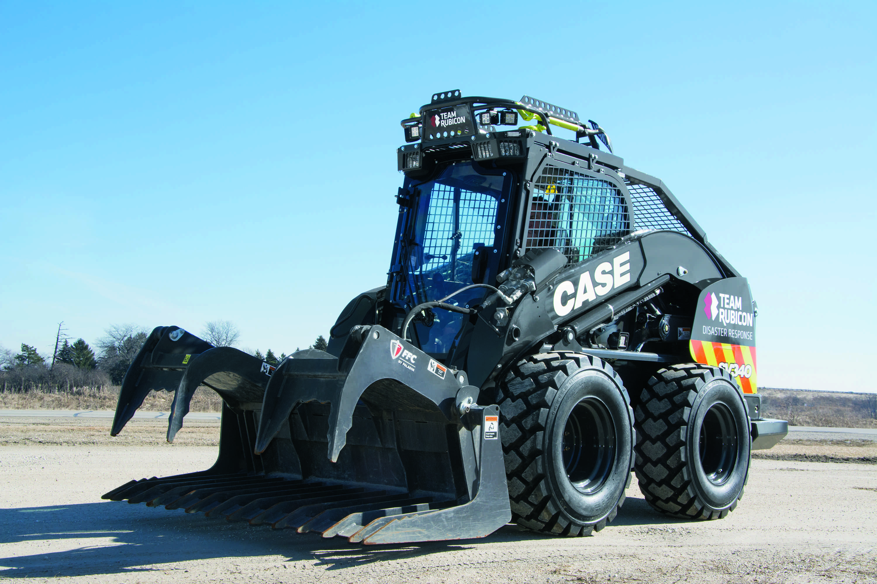 Steer Case Skid : Case construction introducing new skid steer at conexpo