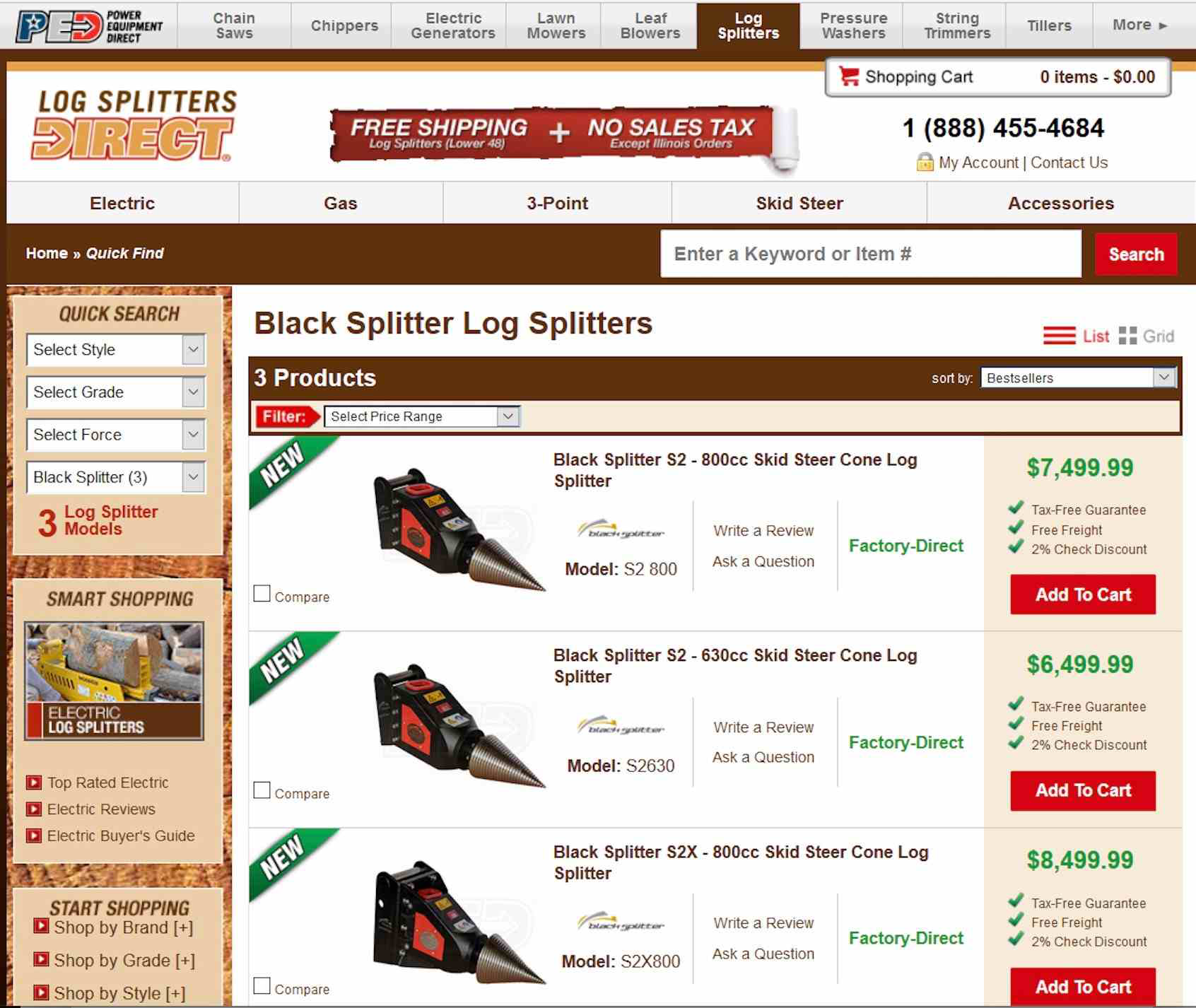Product roundup: Black Splitter now offers attachments online