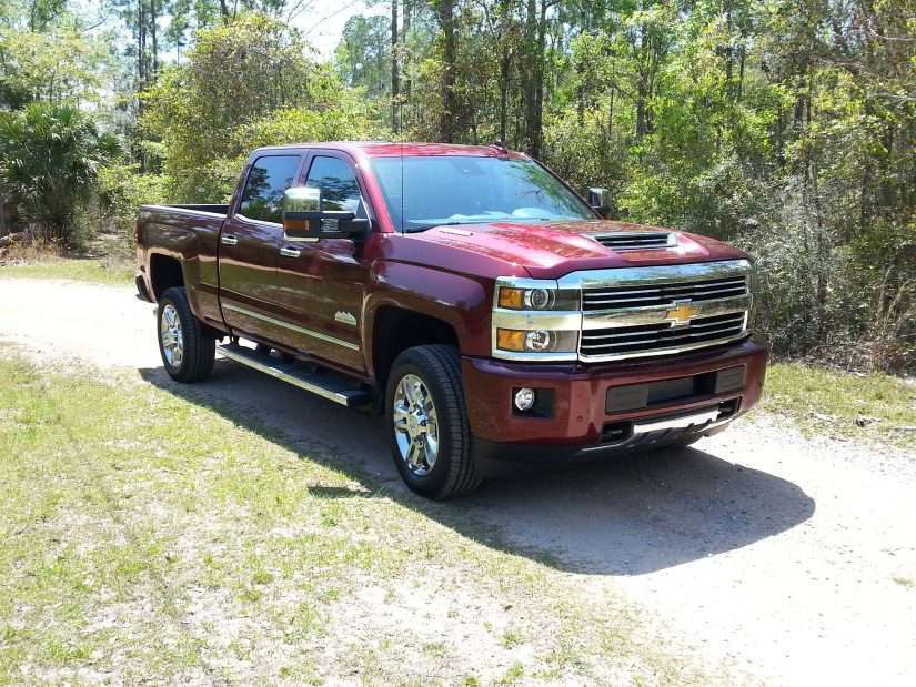 2017 chevy silverado 2500 4x4 goes for a test drive. Black Bedroom Furniture Sets. Home Design Ideas