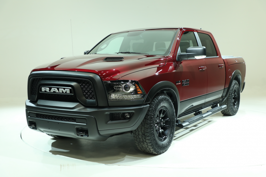 New options available for Ram's 2017 Rebel and Limited
