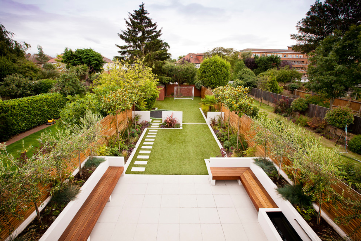 How To Widen Narrow Lots With Landscaping