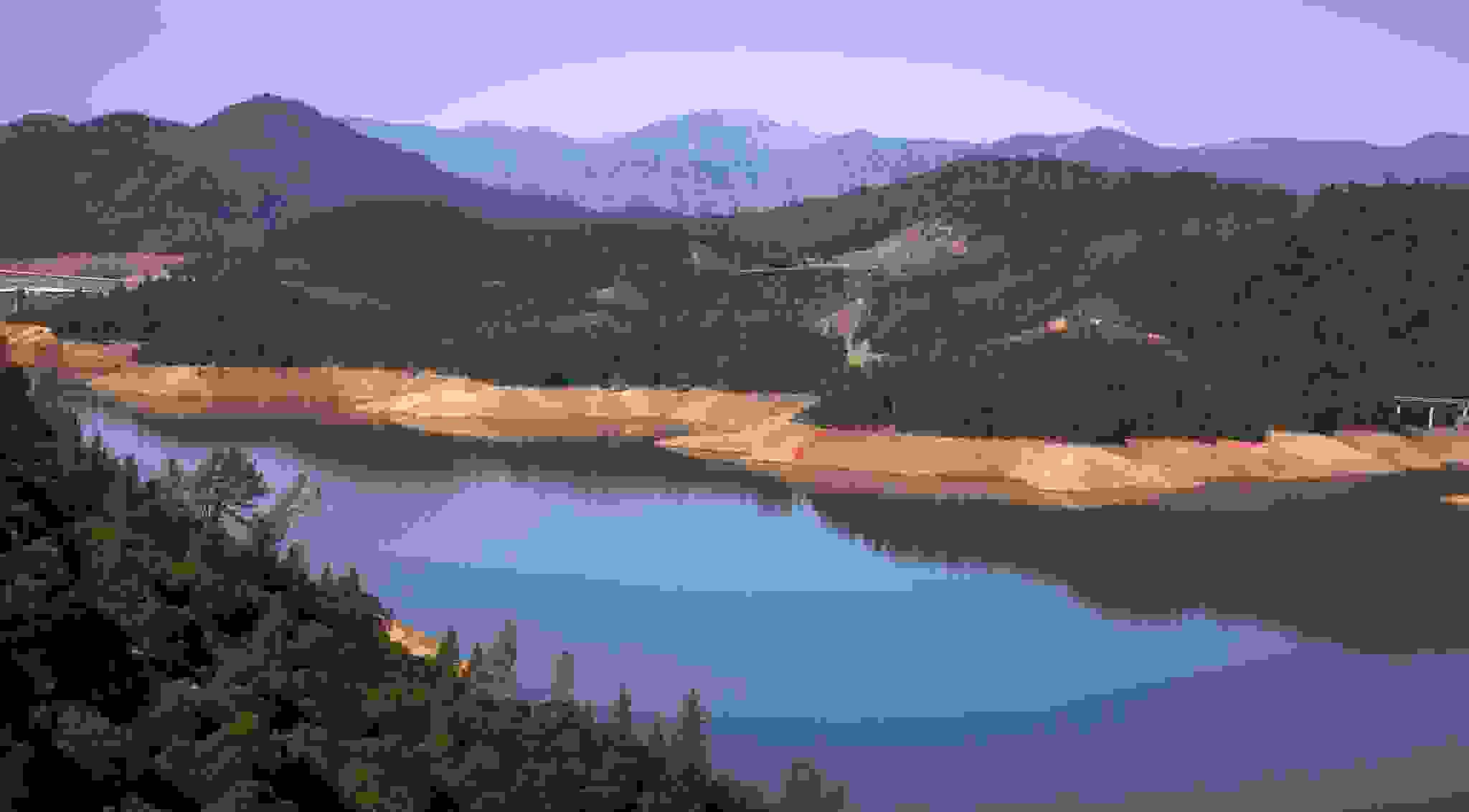 Shasta Lake in 2014