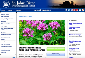 website for Saint John's river