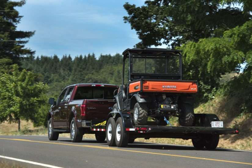 ford f-150 towing kubota