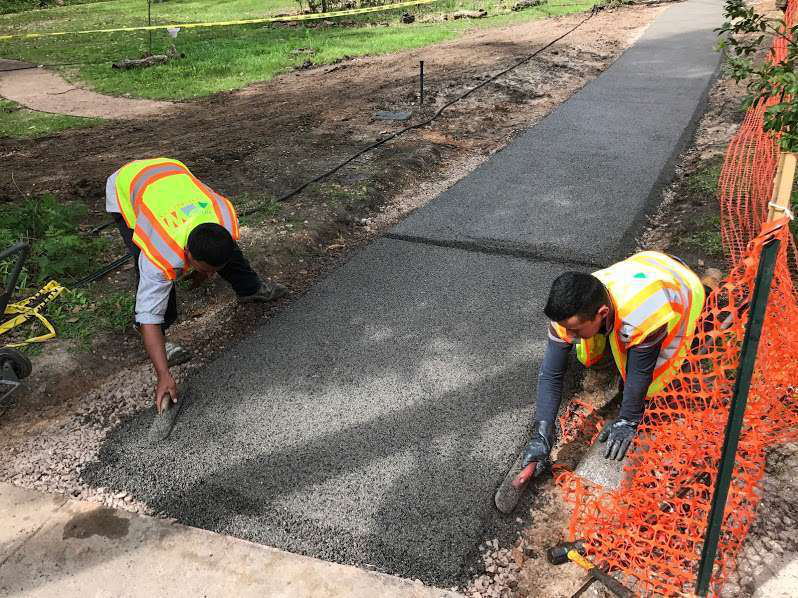 pavers lay porous pave xl installing