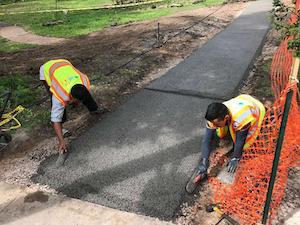 pavers lay porous pave xl installing