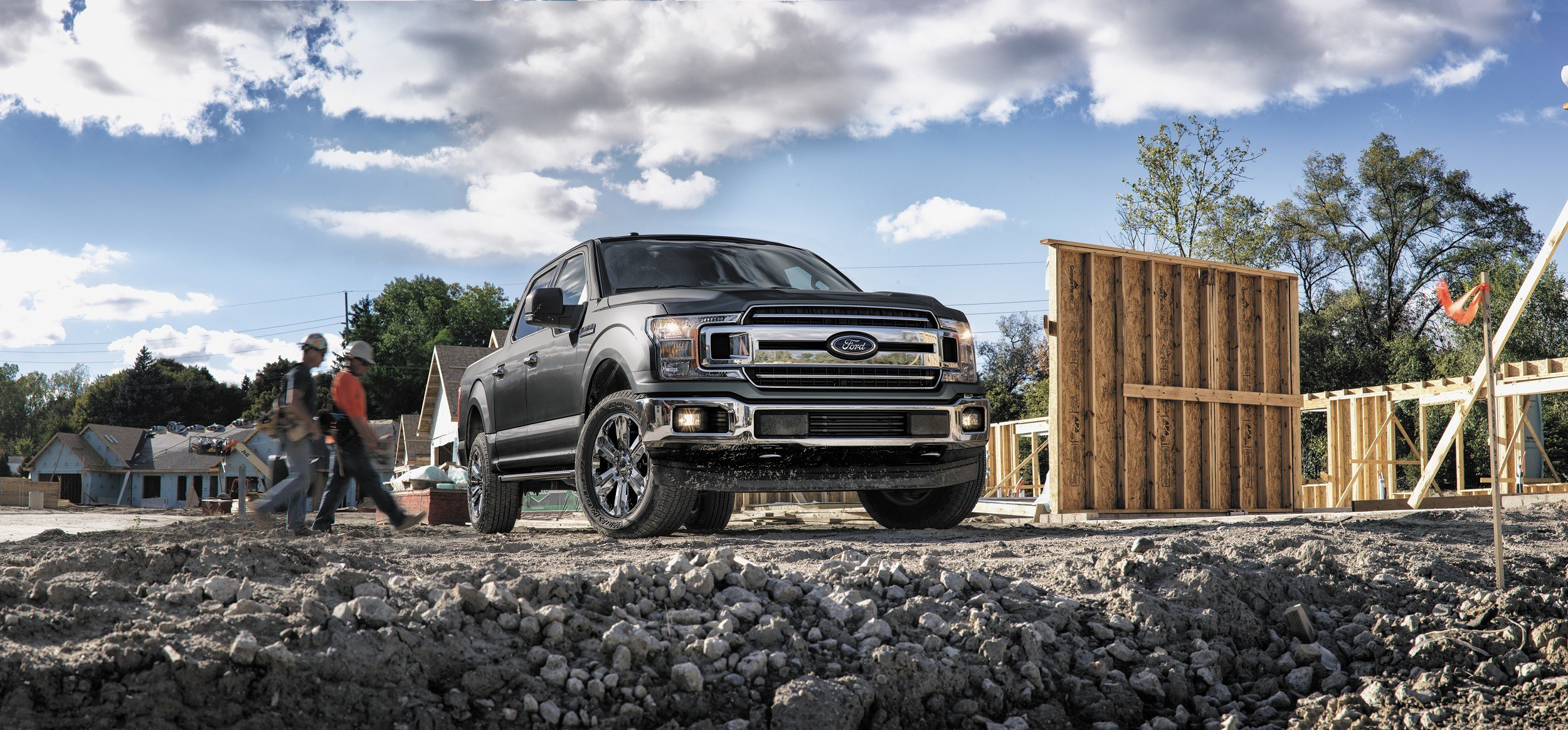 2018 ford f-150 on the jobsite